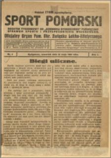Sport Pomorski 1925 Nr 8