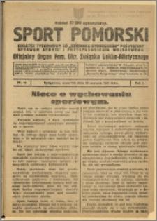 Sport Pomorski 1925 Nr 12