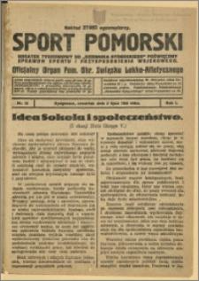 Sport Pomorski 1925 Nr 13