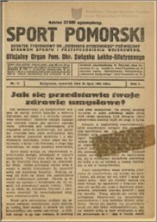 Sport Pomorski 1925 Nr 17