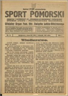Sport Pomorski 1925 Nr 18