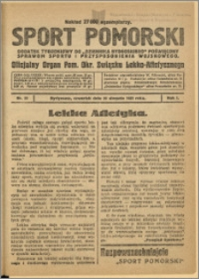 Sport Pomorski 1925 Nr 20