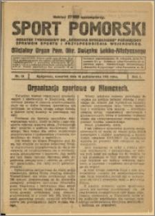 Sport Pomorski 1925 Nr 28