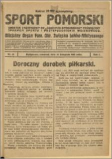 Sport Pomorski 1925 Nr 33
