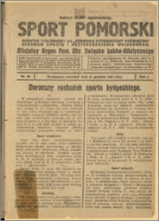Sport Pomorski 1925 Nr 39