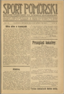Sport Pomorski 1926 Nr 6