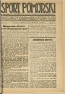 Sport Pomorski 1926 Nr 11