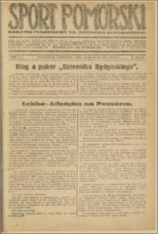 Sport Pomorski 1926 Nr 19