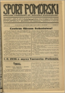 Sport Pomorski 1926 Nr 31