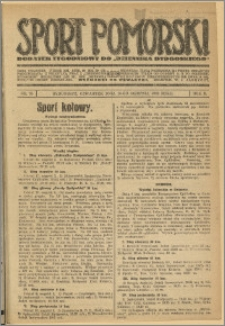 Sport Pomorski 1926 Nr 35