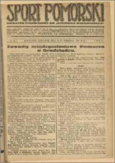 Sport Pomorski 1926 Nr 40