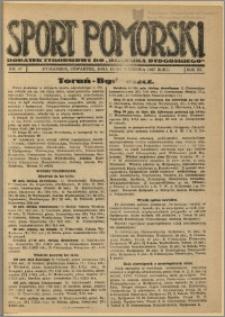 Sport Pomorski 1927 Nr 37