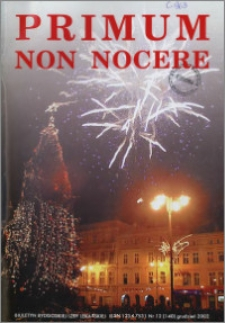 Primum Non Nocere 2002 nr 12
