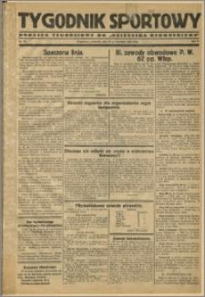 Tygodnik Sportowy 1929 Nr 39