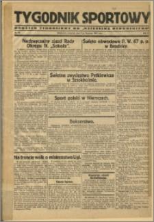 Tygodnik Sportowy 1929 Nr 45