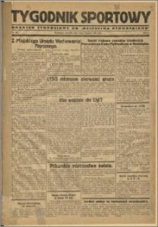 Tygodnik Sportowy 1929 Nr 46