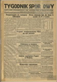 Tygodnik Sportowy 1929 Nr 52