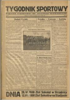 Tygodnik Sportowy 1930 Nr 26
