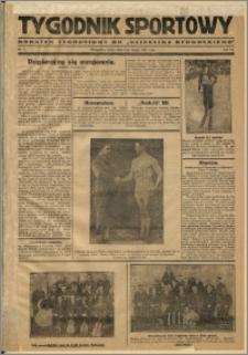 Tygodnik Sportowy 1931 Nr 5