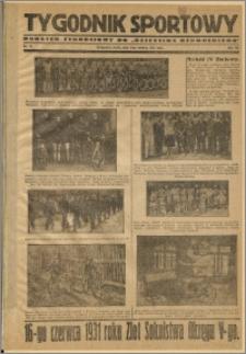 Tygodnik Sportowy 1931 Nr 22