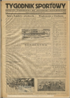 Tygodnik Sportowy 1931 Nr 25