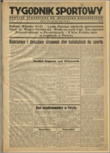 Tygodnik Sportowy 1931 Nr 32
