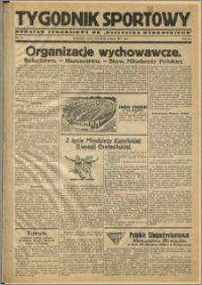 Tygodnik Sportowy 1931 Nr 34