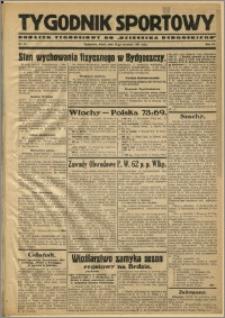 Tygodnik Sportowy 1931 Nr 37