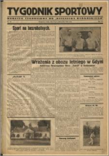 Tygodnik Sportowy 1931 Nr 42