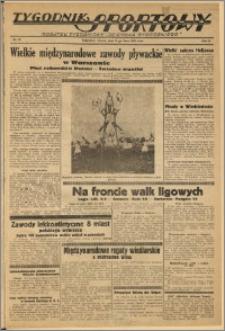 Tygodnik Sportowy 1933 Nr 29