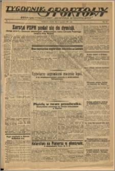 Tygodnik Sportowy 1937 Nr 1
