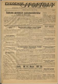Tygodnik Sportowy 1937 Nr 5