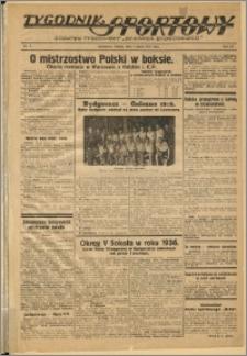 Tygodnik Sportowy 1937 Nr 9