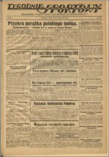 Tygodnik Sportowy 1937 Nr 20