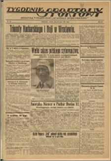 Tygodnik Sportowy 1937 Nr 29
