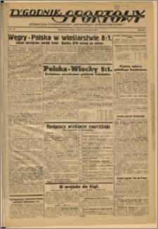 Tygodnik Sportowy 1937 Nr 30