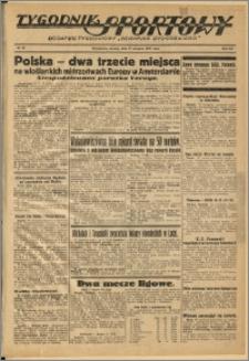 Tygodnik Sportowy 1937 Nr 33
