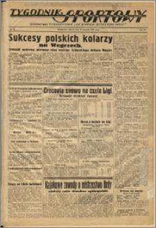 Tygodnik Sportowy 1937 Nr 36