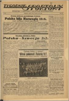 Tygodnik Sportowy 1937 Nr 49