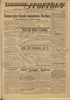 Tygodnik Sportowy 1937 Nr 50