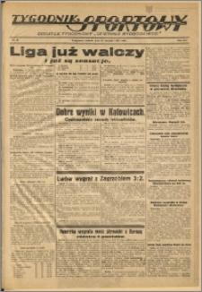 Tygodnik Sportowy 1938 Nr 34