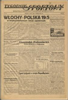 Tygodnik Sportowy 1938 Nr 45