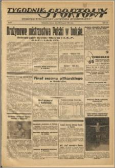 Tygodnik Sportowy 1938 Nr 47