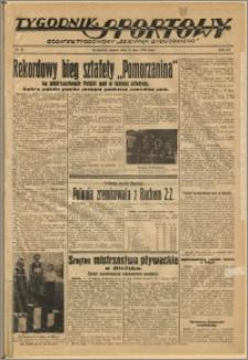 Tygodnik Sportowy 1939 Nr 29