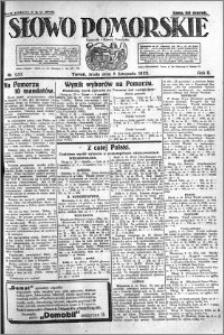 Słowo Pomorskie 1922.11.08 R.2 nr 257