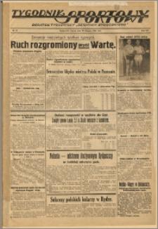 Tygodnik Sportowy 1939 Nr 34