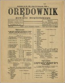 Orędownik Powiatu Mogileńskiego 1929 Nr 92 Dodatek