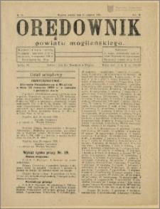 Orędownik Powiatu Mogileńskiego 1930 Nr 70