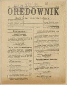 Orędownik Powiatu Mogileńskiego 1931 Nr 1