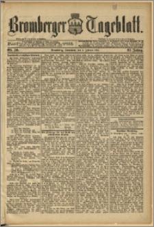 Bromberger Tageblatt. J. 12, 1888, Nr 30